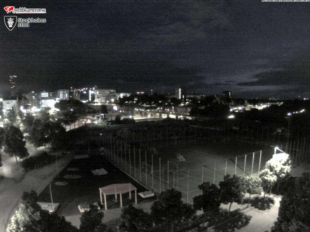 Webbkamera - Norrtull, Stockholm.